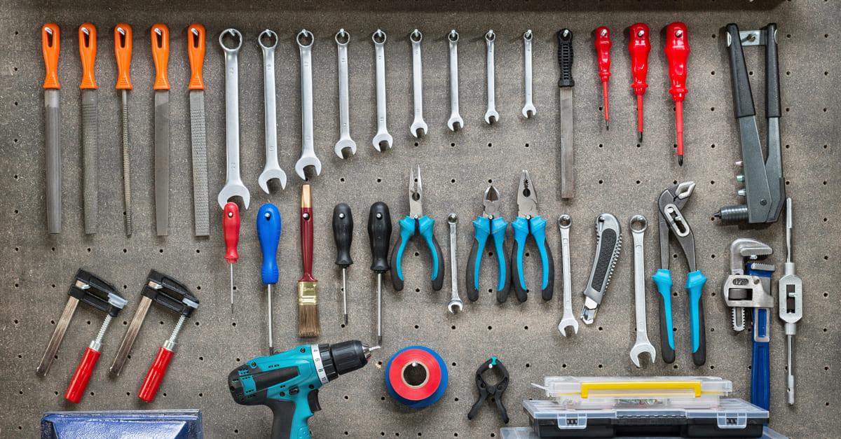 Chaves: a funcionalidade de cada ferramenta