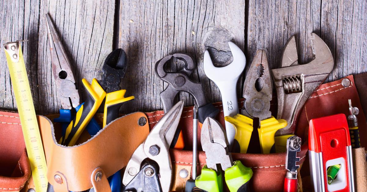 5 ferramentas indispensáveis de se ter em casa