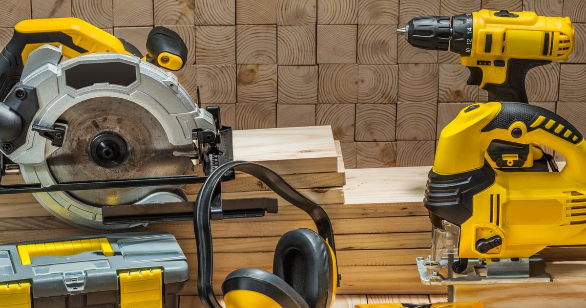 A eficiência e produtividade das ferramentas elétricas!